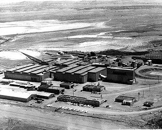 Bluewater Village, New Mexico -  Anaconda Bluewater Mill, circa 1963