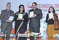 Anand Sharma launching the Investor Guide, at the inauguration of the 'Technotex 2013'-International Exhibition and Conference, in New Delhi. The Secretary, Ministry of Textiles.jpg