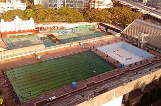 Andheri Sports Complex - Image: Andheri Sports Complex Swimming Pool