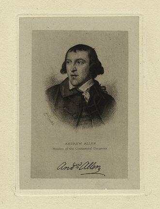 Andrew Allen (Pennsylvania) - Andrew Allen.