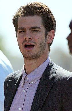 Andrew Garfield på premiären av The Amazing Spider-Man 2 (2014).