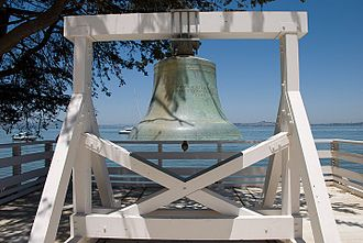Angel Island Immigration Station - Image: Angel Island bell