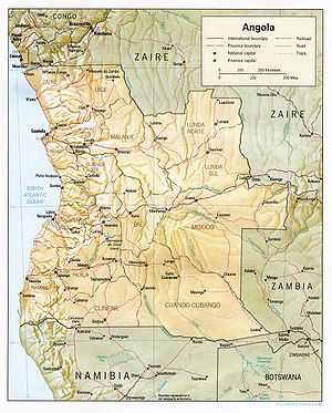 Geography of Angola - Wikipedia, the free encyclopedia
