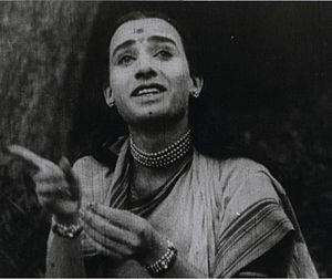 Anna Salunke - Salunkhe as Sita in Lanka Dahan.