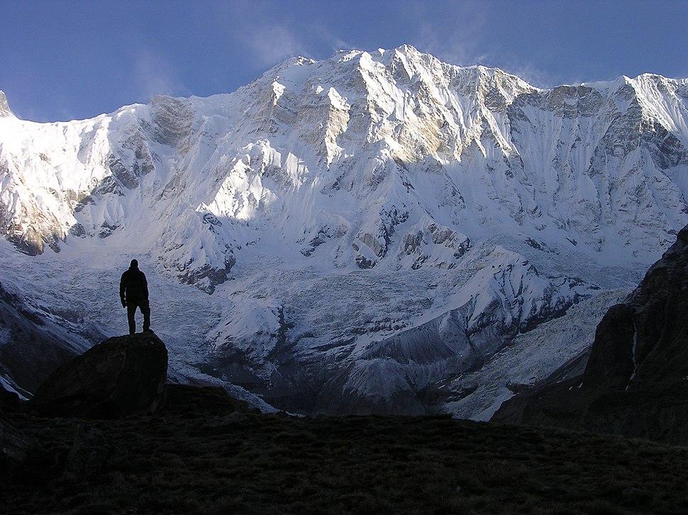 Annapurna I, south face