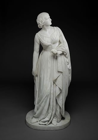 Lady Godiva in popular culture - Anne Whitney, Lady Godiva, marble sculpture, by 1864, Dallas Museum of Art. Lady Godiva represented a heroine relieving the poor of exorbitant taxes.