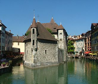 Amadeus III of Geneva - The Palais de l'Isle in Annecy, once the seat of the count of Geneva, was a mint under Amadeus III.
