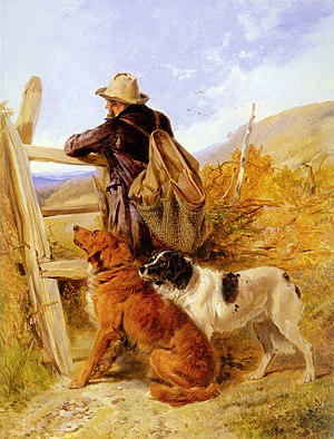 Gamekeeper - The Gamekeeper, by Richard Ansdell (1815–85)