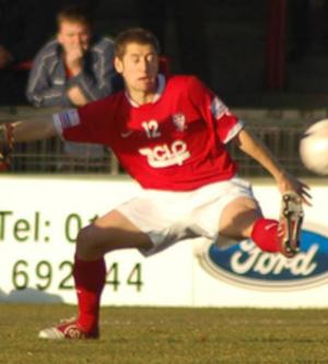 Anthony Lloyd - Lloyd playing for York City in 2007