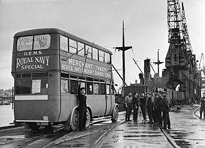 Port of Immingham - Anti aircraft gunnery training, 1940s