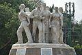 Anti Terrorism Raju Memorial Sculpture - 1997 CE - by Shaymal Chowdhury - University of Dhaka Campus - Dhaka 2015-05-31 1944.JPG