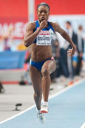 Antoinette Nana Djimou - Jumping to victory in Paris, 2011