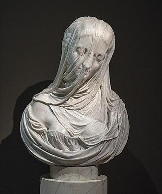 Ca' Rezzonico - Image: Antonio Corradini Dama Velata (Puritas) Museo del Settecento Veneziano Ca' Rezzonico, Venice