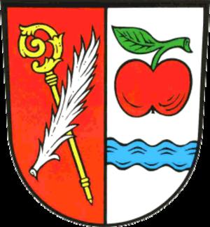 Apfeltrach - Image: Apfeltrach wappen