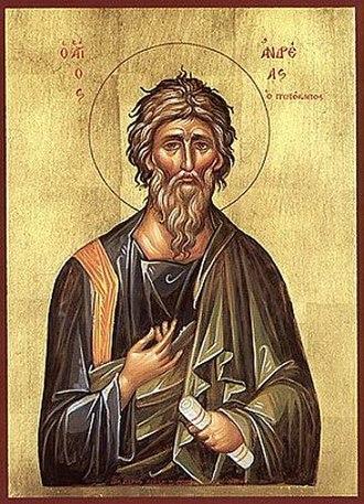 Andrew - Saint Andrew