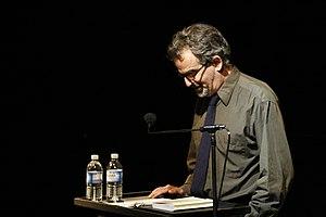 Aram Saroyan - Aram Saroyan speaking at Beyond Baroque Literary Arts Center, Los Angeles.