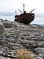 Aran Islands - Inisheer - Schiffswrack - panoramio (1).jpg
