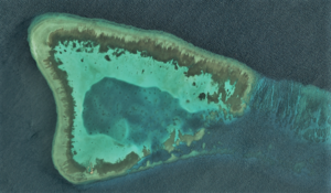Ardasier Reef - Satellite image of Ardasier Reef by NASA.