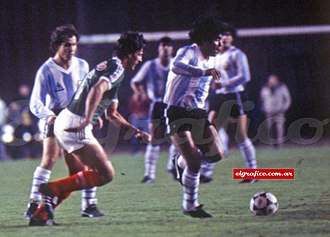 Mexico national football team - Mexico v Argentina in Los Angeles, 1985