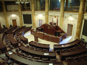English: The Arkansas House of Representatives...
