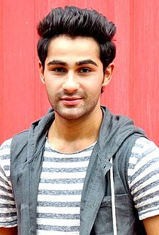 Armaan Jain at a promotional event for Lekar Hum Deewana Dil.jpg