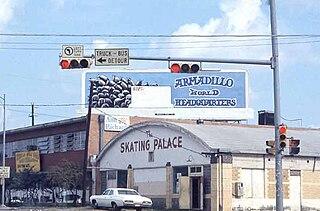 Armadillo World Headquarters music venue and nightclub located in Austin, Texas