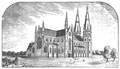 Armagh St. Patrick's Cathedral as designed by J. J. McCarthy c. 1854.png