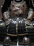 Armour of Maeda clan - hands and apron.jpg