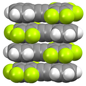 Organofluorine chemistry - Image: Aromatic Fluorocarbon