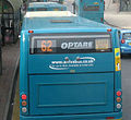 Arriva Buses Wales bus 693 (CX09 BGU) 2009 Optare Solo M950SL, Bangor Bus Station, 11 March 2009.jpg