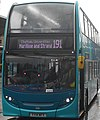 Arriva Kent & Surrey YY14WFV, Chatham Bus Station, 15 January 2018 (cropped).jpg
