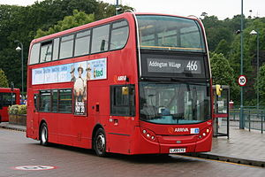 Arriva route 466 to Addington Village.jpg