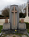 Art Deco gravestone - City of London Cemetery and Crematorium - Charles William and Sarah Brown.jpg