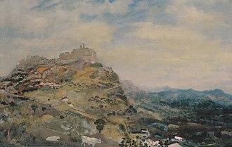 Lillie P. Bliss - Image: Arthur B Davies Italian Hill Town