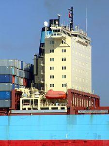 Arthur Maersk pic09 approaching Port of Rotterdam, Holland 08-Mar-2007.jpg