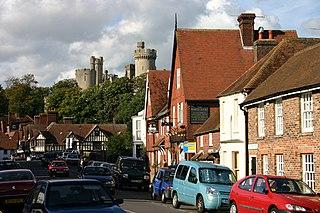 Arundel Human settlement in England
