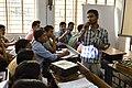 Arup Jana Answering - Bangla Wikipedia National Workshop - Vidyasagar University - West Midnapore - 2015-02-25 6359.JPG
