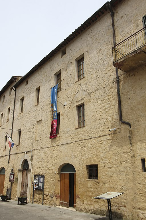 Asciano, Palazzo Corboli, Museo d'Arte sacra