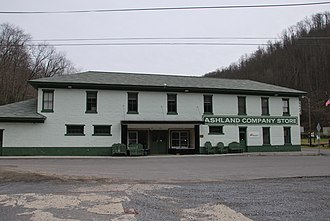National Register of Historic Places listings in McDowell County, West Virginia - Image: Ashland Company Store