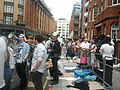 Assange speech-supporters in front of Ecuador embassy.jpg