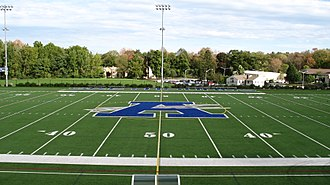 Assumption College - View of the multi-sport stadium at Assumption College