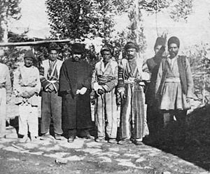 Ethnic minorities in Iran - Assyrians in Urmia, Iran.