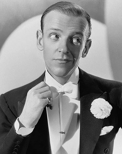 Fred Astaire, American dancer, singer, actor, choreographer and television presenter