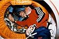 Astronaut Gibson Shakes Hands with Cosmonaut Dezhurov - GPN-2002-000062.jpg