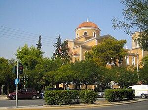 Akadimia Platonos - A church in Akadimia Platonos