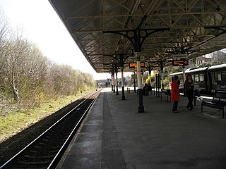 Atherton railway station Railway station in Greater Manchester, England