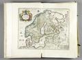 Atlas Maior, Blau. Karta över Skandinavien.PB hist.288 - Skoklosters slott - 87580.tif