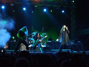Atrocity (band) - Image: Atrocity Kavarna 2010 1