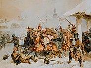 Attack of Polish Krakusi on Russians in Proszowice 1846