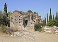 Attica 06-13 Hills of Hymettus 08 church ruins.jpg